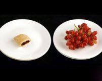 مقایسه کالری غذای فست فود با میوه ها و سبزیجات