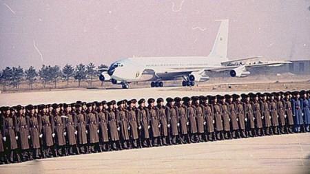 تصاویر دیدنی ایر فورس وان هواپیمای رییس جمهور آمریکا