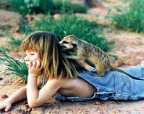 عکس های دختری که همسر و همخواب حیوانات وحشی شده است