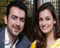 عکس های جشن عروسی دیا میرزا بازیگر هندی و همسرش