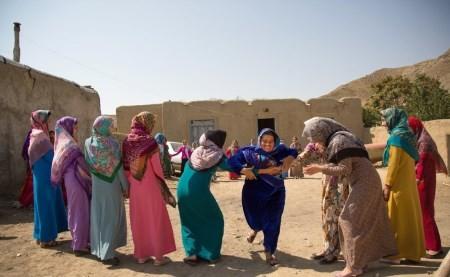 مراسم شب زفاف یک زوج ترکمن + تصاویر