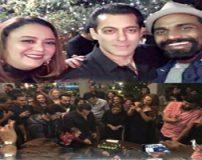 عکس های جشن تولد سلمان خان خواننده و بازیگر هندی
