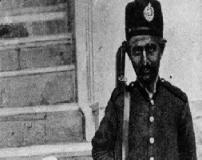 تصویر جالب و قدیمی از پدر رضاشاه شاه ایران