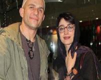 عکس های لو رفته مینا ساداتی در آغوش همسرش