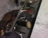 مرگ وحشتناک یک جوان در مترو تهران (تصاویر 18+)