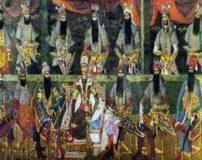 تابلوهای نقاشی زیبا از چهره واقعی پادشاهان قاجار