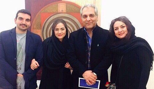 عکس های همسر و دختر مهران مدیری
