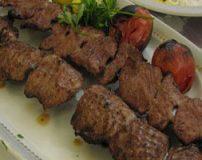 طرز درست کردن کباب گیلانی با گوشت راسته گوساله یا گوسفند