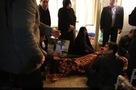 عکس جسد آیت الله رفسنجانی در اتاق امام خمینی (ره)