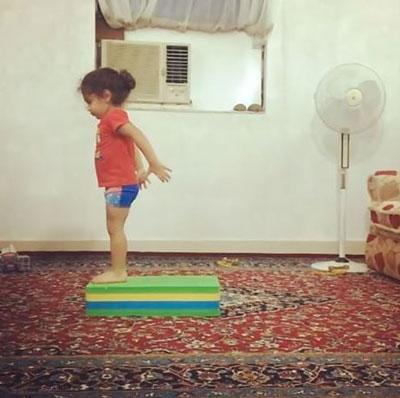 آرات حسینی نابغه 3 ساله ایرانی + تصاویر