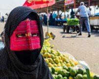 زنان زیبای نقاب دار در بندرعباس + تصاویر