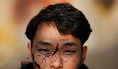 پشت صحنه فیلم ترسناک زامبی ها در پکن + تصاویر