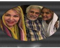 تصاویر لو رفته اکرم محمدی در آغوش همسرش