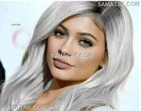 ژورنال رنگ موی خاکستری زنانه و دخترانه