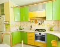 مدل چیدمان و دکوراسیون خانه رنگ سبز پسته ای و زرد