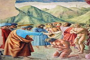غسل تعمید برای کسب بخشش در درگاه الهی