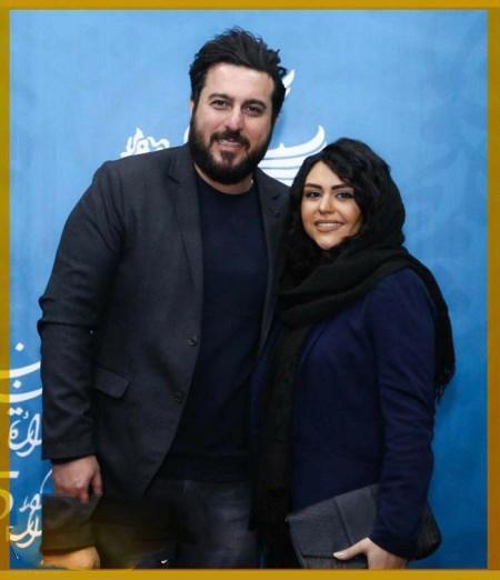 عکس های لو رفته محسن کیایی و همسرش در آغوش هم