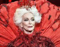 عکس های پیرترین مانکن زن جهان در سن 85 سالگی