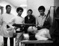 عکس های جنازه امیرعباس هویدا در سردخانه (18+)