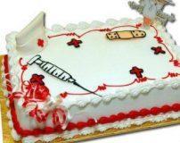 تصاویر کیک های زیبا با تزیین روز پرستار