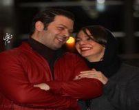 عکس های لو رفته پژمان بازغی در آغوش همسرش