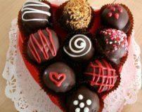 انواع مدل های جدید تزیین شکلات ولنتاین