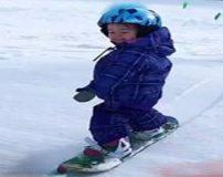 عکس های زیباترین دختر اسنوبرد باز جهان