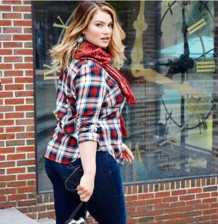 مدلینگ دختر زیبایی که به دلیل چاق بودن معروف شد + تصاویر