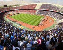 عکس دختر خوشگل تهرانی در استادیوم آزادی
