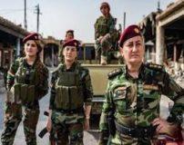 خواننده زن عراقی که فرمانده دختران نظامی است+ تصاویر