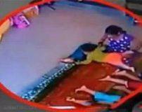 آزار و اذیت جسمی وحشیانه پرستار هندی در مهد کودک + تصاویر