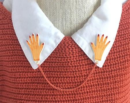 انواع شیک ترین مدل های تزیین یقه لباس