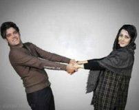 عکس های لو رفته از امیر علی نبویان و همسرش