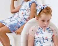 مدل لباس بهاره بچه گانه دخترانه