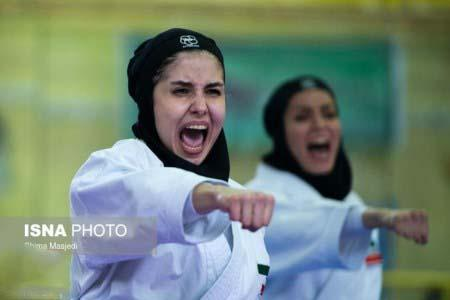 تصاویر دختر کاراته باز ایرانی