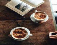 تزیین قهوه و نسکافه | تزیین چای و قهوه