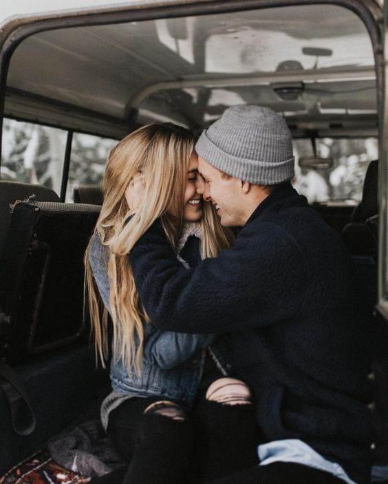 عکس های عاشقانه پسر و دختر بغل هم