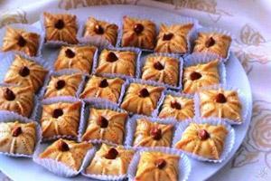 طرز تهیه یک نوع شیرینی بقچه ای