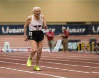 دونده 99 ساله در دوی سرعت برنده شد + تصاویر