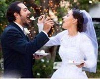ازدواج بهرام رادان در کالیفرنیا + تصاویر