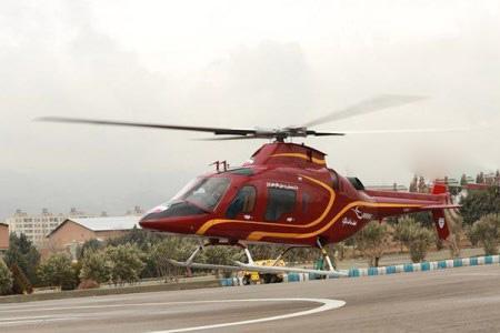 هلیکوپتر صبا ساخت ایران رونمایی شد + تصاویر