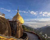 عبادتگاهی از جنس طلا در میانمار + تصاویر