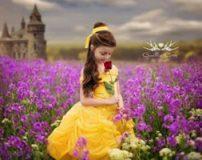 دختر زیبایی که مانند کارتون های والت دیزنی لباس می پوشد + تصاویر
