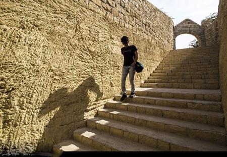 عکس های مسافران نوروزی در ارگ بم کرمان