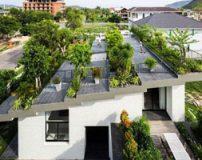 مدل طراحی جالب پشت بام و تراس
