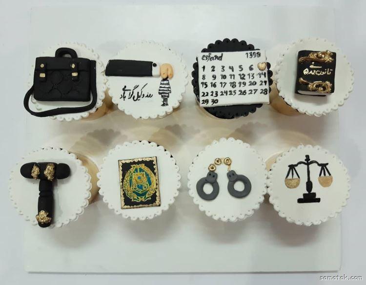 کیک روز وکیل؛ عکس تزیین انواع مدل کیک روز وکیل جدید