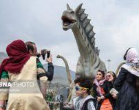 مهمان های نوروزی در پارک ژوراسیک تهران