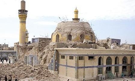 عکس های حرم امام هادی در شهر سامرای عراق