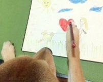 سگی انسان نما که همانند انسان ها رفتار می نماید + تصاویر