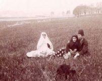 عکس های تاریخی سیزده بدر مردم ایران در زمان های قدیم